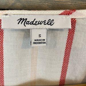 Madewell Tops - NWOT MADEWELL Stripe sash side tie top